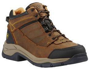 Ariat Men's Bison Terrain Pro Performance Boots , Bison, hi-res