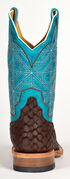 Cinch Edge Men's CEM Leather Western Boots - Square Toe, Chocolate, hi-res
