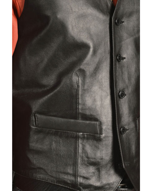 Scully Lamb Leather Vest - Big, Black, hi-res