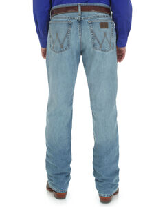 Wrangler Men's 20X Cool Vantage Competition Slim Jeans - Ocean Blue - Tall, Denim, hi-res