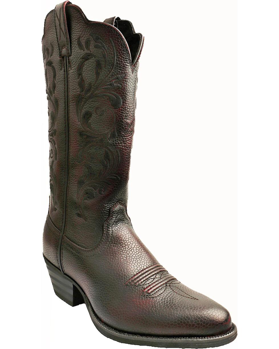 Twisted X Burgundy Western Cowgirl Boots - Round Toe, Burgundy, hi-res