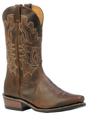 Boulet Selvaggio Rider Sole Boots - Pointed Toe, Wood, hi-res