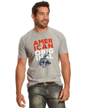 Cody James Men's American Original T-Shirt, Heather Grey, hi-res