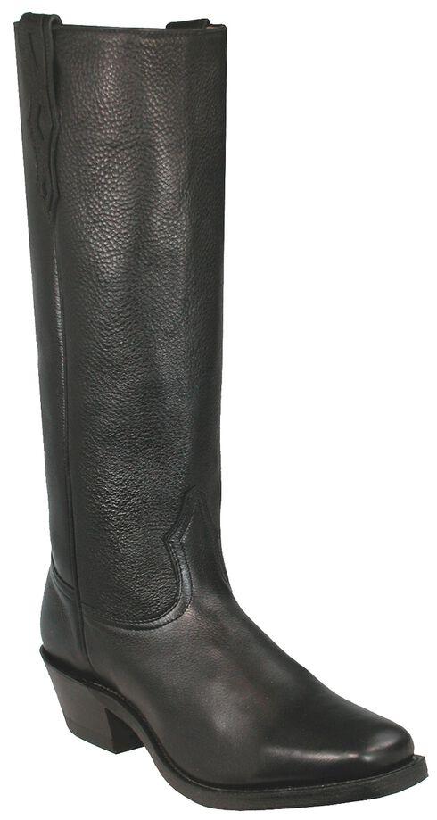 Boulet Shooter Cowboy Boots - Square Toe, Black, hi-res