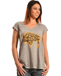 White Crow Women's Roam Shirt, Grey, hi-res