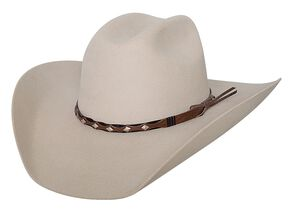 Bullhide True West 8X Fur Blend Cowboy Hat, Buckskin, hi-res