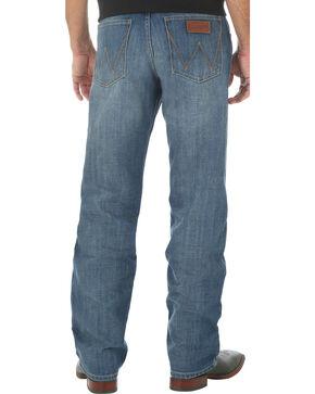 Wrangler Retro Men's Relaxed Fit Medium Wash Boot Cut Jeans - Big and Tall, Indigo, hi-res