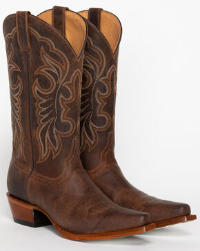 Shyanne Women's San Juan Mad Dog Western Boots - Snip Toe, Tan, hi-res