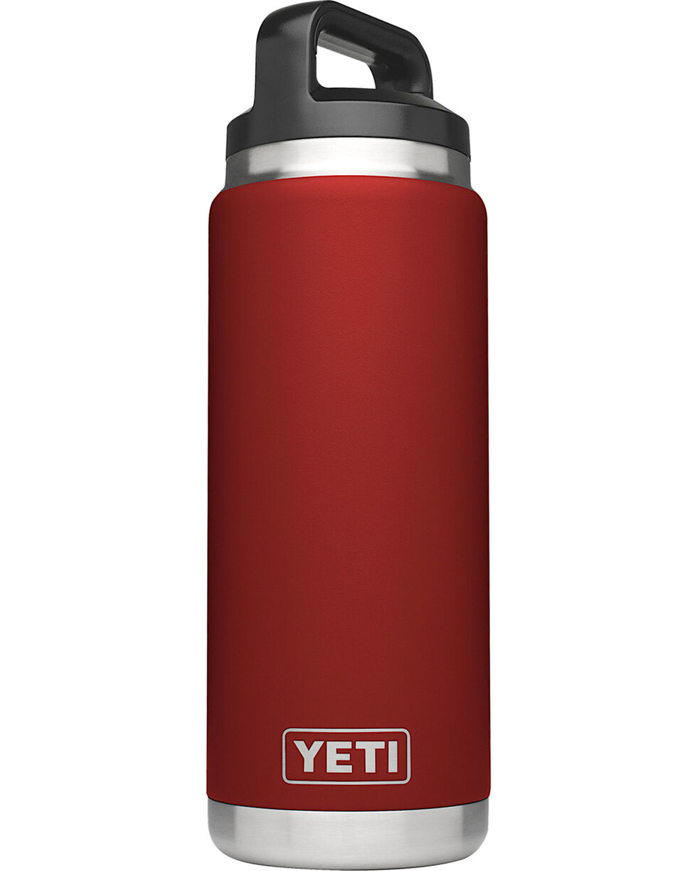 Yeti Brick Red 26oz Bottle Rambler , Red, hi-res
