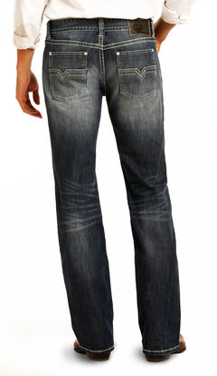 Rock & Roll Cowboy Men's Indigo Reflex Pistol Jeans - Straight Leg, , hi-res