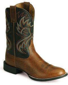 Ariat Heritage Horseman Cowboy Boots - Round Toe, , hi-res