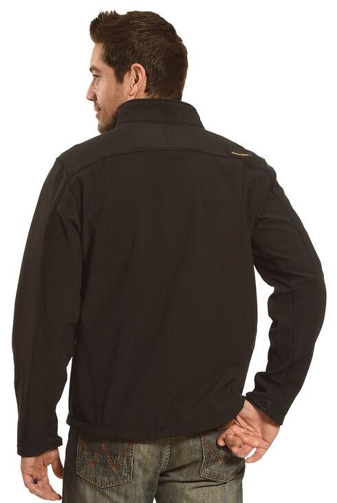 HOoey Men's Black Logo Jacket, Black, hi-res