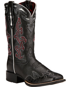 Ariat Sidekick Cowgirl Boots - Square Toe , , hi-res