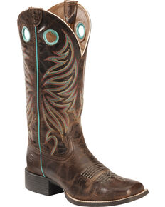Women S Square Toe Boots Country Outfitter