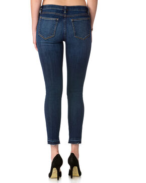 Miss Me Women's Indigo Madethe Cut Mid-Rise Jeans - Ankle Skinny , Indigo, hi-res