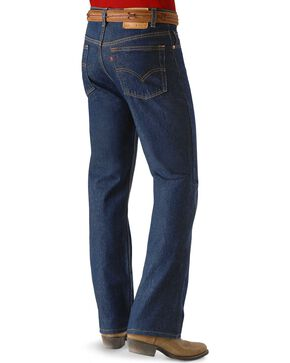"Levis  Jeans 517 Boot Cut - Rinsed - Big. 44"" Waist!, Rinsed, hi-res"