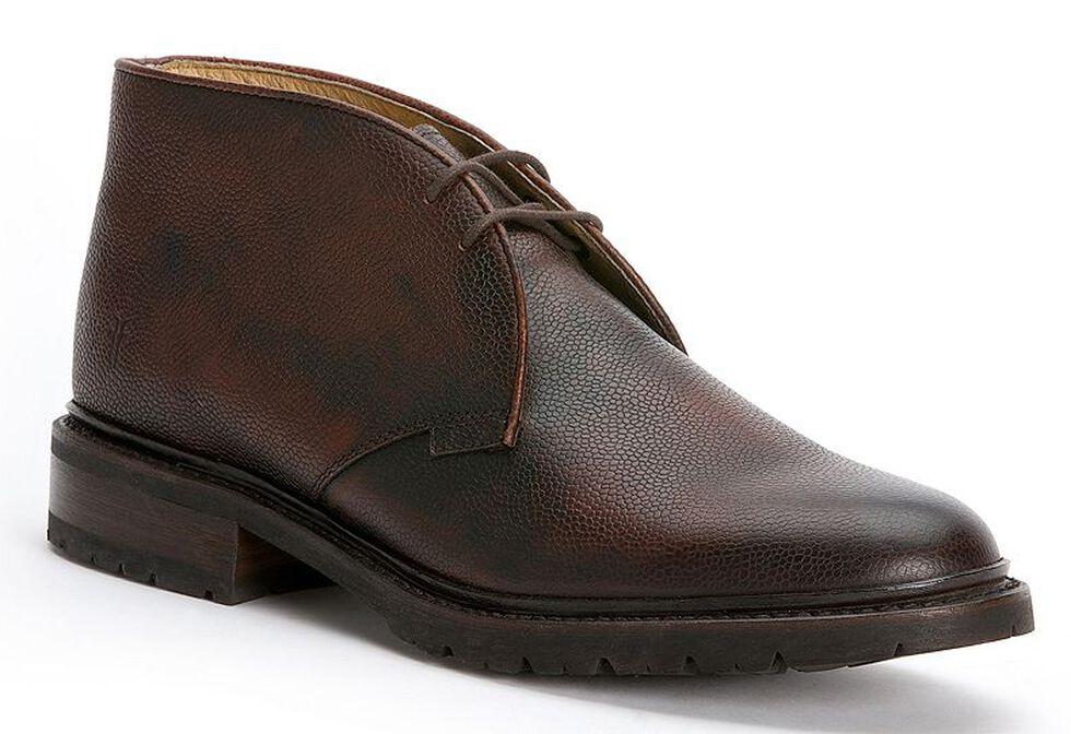 Frye Men's James Lug Chukka Shoes, Dark Brown, hi-res