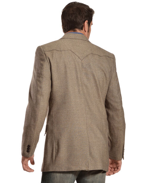 Circle S Men's Lambswool Plano Sport Coat, Brown, hi-res