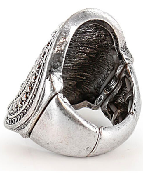 Shyanne Women's Statement Ring, Silver, hi-res