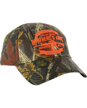 Brothers & Arms Men's Signature Hunter Cap, Camouflage, hi-res