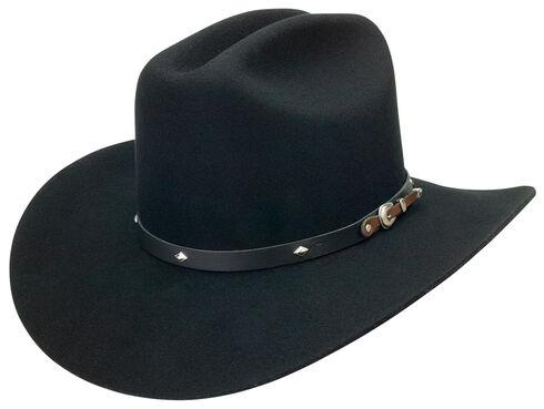 Silverado Men's Wool Felt Black Cowboy Hat, , hi-res