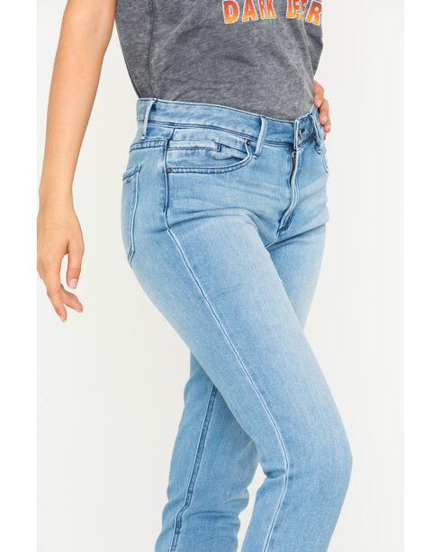 Tractr Blu Women's Indigo Girlfriend Denim Pants - Skinny , Indigo, hi-res