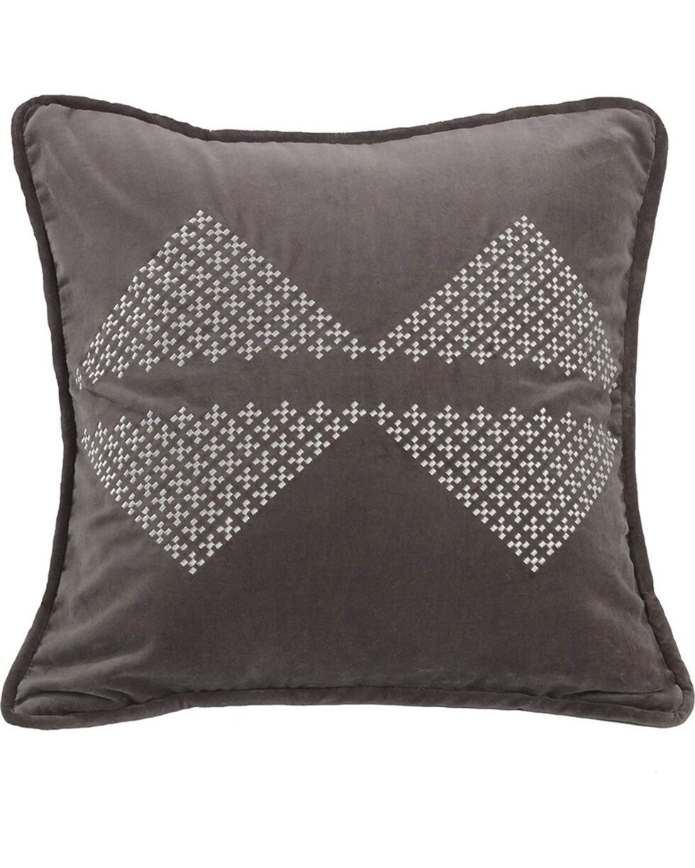 HiEnd Accents Embroidered Diamond Accent Pillow, Multi, hi-res