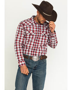 Cody James Men's Firewater Plaid Long Sleeve Shirt, , hi-res
