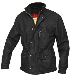 STS Ranchwear Men's Smitty Black Barn Jacket - Big & Tall - 4XL, Black, hi-res
