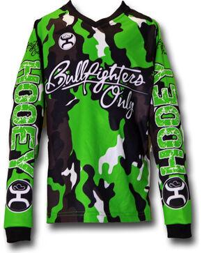 Hooey Men's Weston Rutkowski Long Sleeve Shirt , Green, hi-res