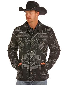 Powder River Outfitters Men's Aztec Wool Jacket, Black, hi-res