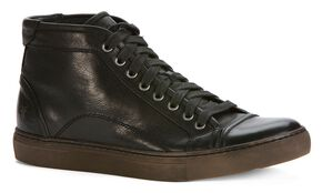 Frye Justin Mid-Lace Sneakers, Black, hi-res