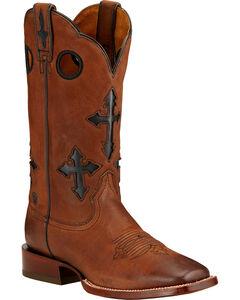 Ariat Ranchero Cowboy Boots - Square Toe , , hi-res