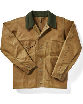 Filson Men's Oil Finish Tin Jacket, Tan, hi-res