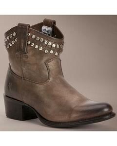 Frye Diana Cut Stud Short Boots, , hi-res