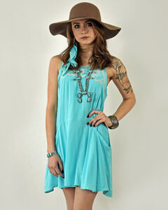 Tasha Polizzi Women's Blue Madeline Dress , Blue, hi-res