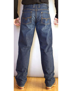 Kimes Ranch Men's Watson Mid Rise Relaxed Jeans - Boot Cut, Indigo, hi-res