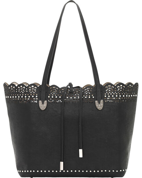 Bandana by American West Darlington Collection Day Tote, Black, hi-res