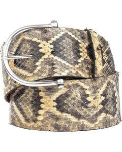Lucchese Women's Eastern Rattlesnake Belt , , hi-res