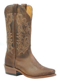 Boulet Cowboy Boots - Cutter Snip Toe, Wood, hi-res