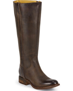 Justin Women's Tall Leather Riding Boots - Round Toe, , hi-res