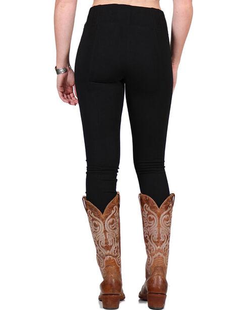Boom Boom Jeans Women's Black Leggings, Black, hi-res
