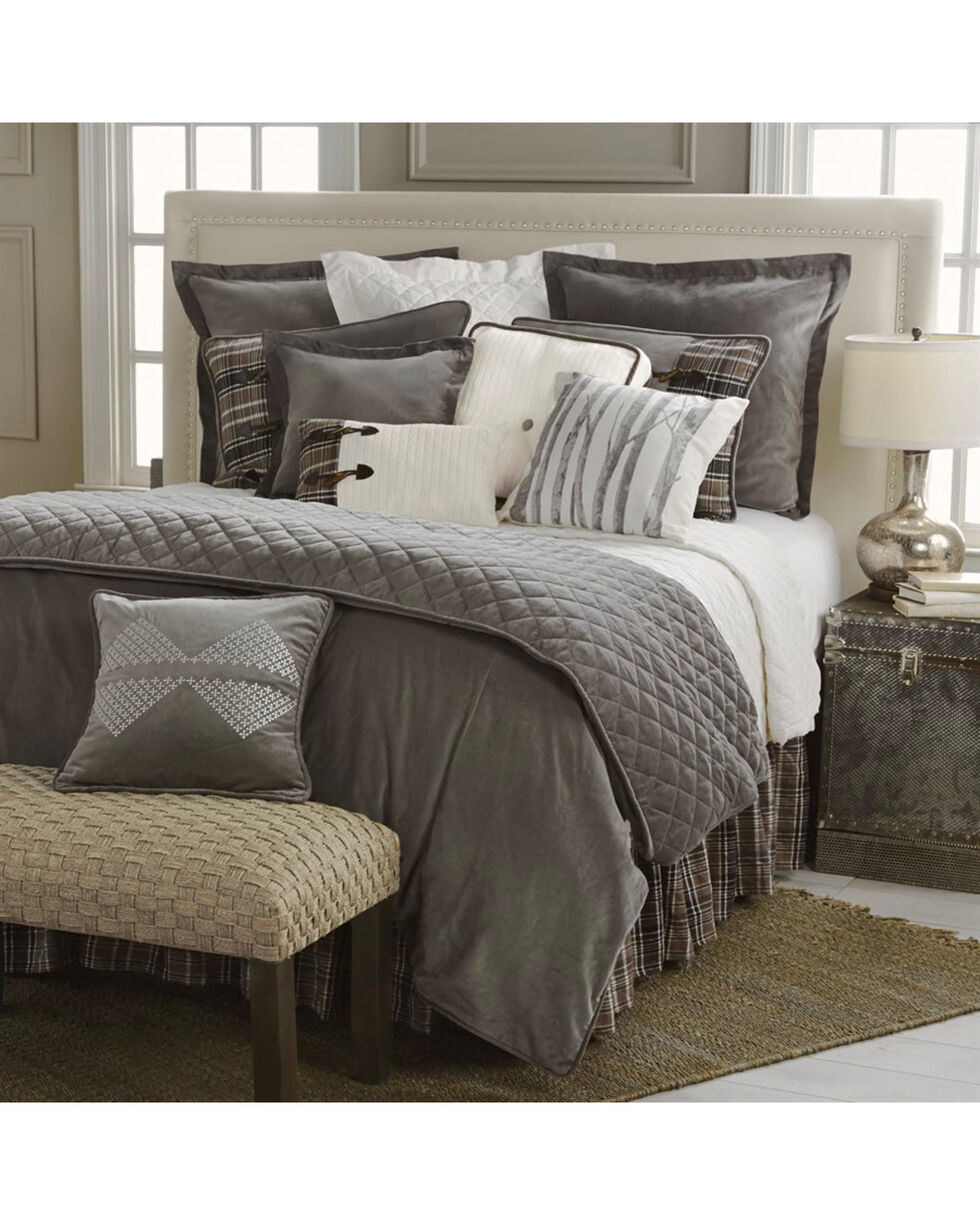 HiEnd Accents Whistler Super King 4-Piece Bedding Set, Multi, hi-res