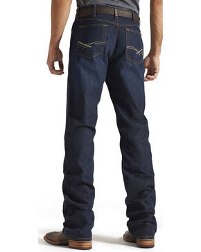 Ariat Men's Heritage Jackson Relaxed Fit Jeans - Boot Cut, Indigo, hi-res