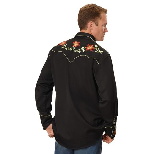 Scully Floral Embroidered Shirt, , hi-res