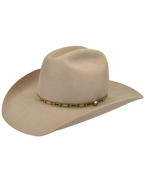 Bailey Men's Tan Bridger 3X Wool Felt Cowboy Hat, Tan, hi-res