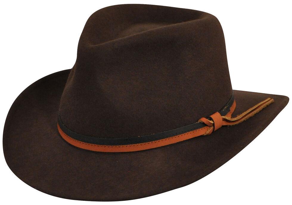 Country Gentleman Dark Olive Outback Hat , , hi-res