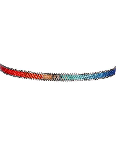 Kutula Kiss Women's Optic Rainbow Choker , Multi, hi-res