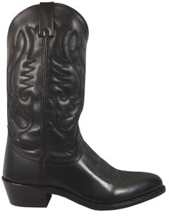 Smoky Mountain Men's Black Denver Cowboy Boots - Round Toe, , hi-res