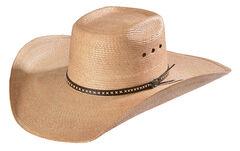 Justin Bent Rail Gunslinger Copper Straw Cowboy Hat , , hi-res